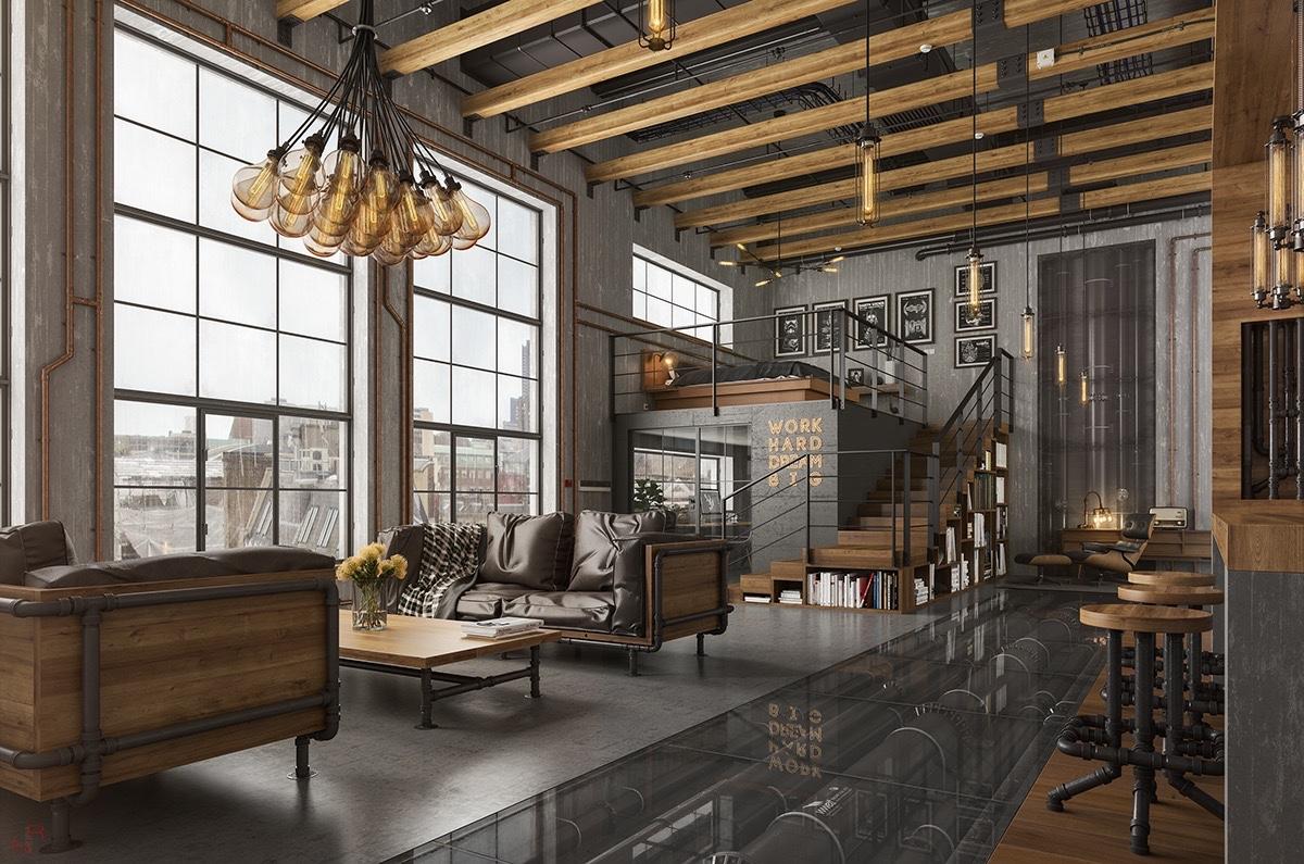 Conceptos de dise o para lofts for Studi interior design roma